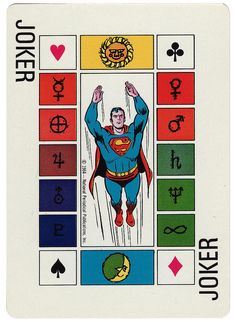 General Dynamics (Astronautics) Space playing cards