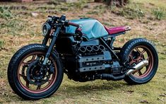Take a peek at a number of my well liked builds - tailor made scrambler designs like this Cafe Racing, Cafe Racer Motorcycle, Motorcycle Style, Auto Racing, Triumph Motorcycles, Bobbers, Ducati, Motocross, K100 Bmw