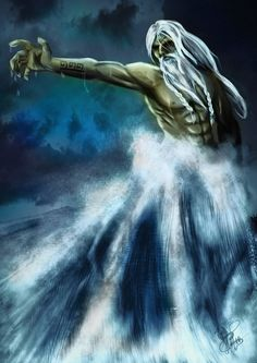 Aegir; Norse God of the Ocean, SeaKing and Master of all Sea and Ocean Creatures