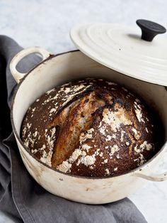 Food Crush, Whole Wheat Bread, Vand, Easy Bread Recipes, Sourdough Bread, Bread Baking, Recipe Box, Food Photography, Homemade