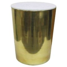 Gold & Marble Storage Accent Table - Threshold™