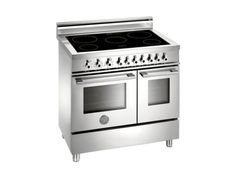 90 Induction Top, Electric Double Oven | Professional Series | Ranges | Bertazzoni
