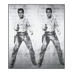I really want Andy Warhol's Elvis piece tattooed on me!