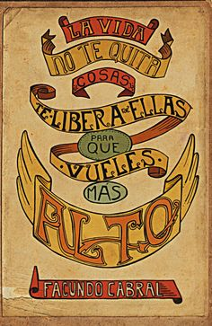 Facundo Cabral by Anabel Iannone, via Behance