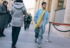 Phil Oh's Best Street Style Pics From the Paris Men's Shows - Vogue