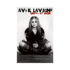 AVRIL LAVIGNE POSTER Under my Skin RARE HOT NEW 24x36