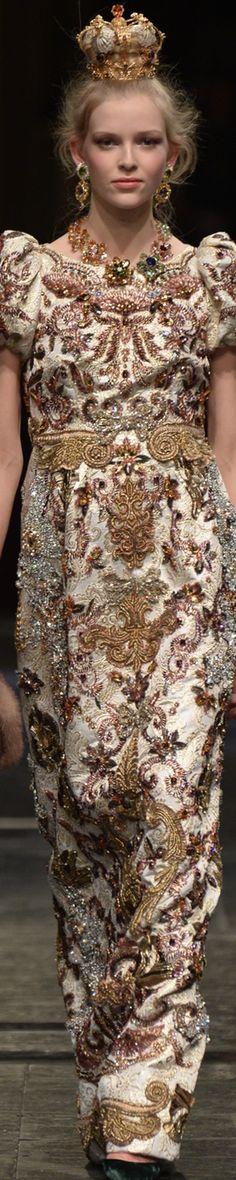 Dolce & Gabbana Alta Moda - 2016