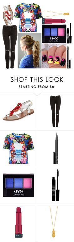 """""""Bailey: August 24, 2016"""" by disneyfreaks39 ❤ liked on Polyvore featuring Kate Spade, Dsquared2, NARS Cosmetics, NYX, Lord & Berry, Almay and Alex Monroe"""