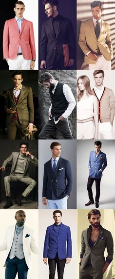 Men's Buttoning Up Lookbook
