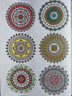 CZ6 : mandalas bicolores