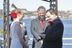 Ceremony on the Top Deck