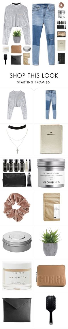 """JUST ONE TOUCH NOW BABY"" by expresng ❤ liked on Polyvore featuring Gap, Charlotte Russe, FOSSIL, Grown Alchemist, Topshop, Paper & Tea, Hermès, Lux-Art Silks, Herbivore and 3.1 Phillip Lim"