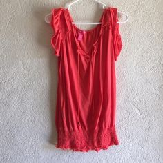 3 items for $20 Orange top. Orange top. 100% polyester. Brand-new never worn. No rips stains or pulling. Tops Tank Tops