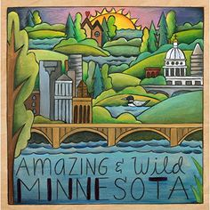 Land of Lakes and Loons Sincerely Sticks 9x9 Plaque  Minnesota Gift  Handmade in the USA  PRINTED product  Home Decor Gift  Decorative Plaque >>> Learn more by visiting the image link. (This is an affiliate link) #HomeDecorPlaques