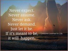 Lecciones de vida