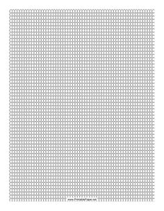 This Seed Bead Loom Pattern beadwork layout graph paper features seed beads in a single-row loom pattern. Free to download and print