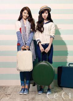 커버 스토리 소녀시대 수영 & 서현, CeCi March 2013