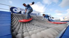 Brushboarding is the new extreme sport... now, I hadn't heard of this... you?
