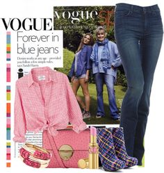 """""""Forever in Blue Jeans"""" by flowerchild805 ❤ liked on Polyvore"""