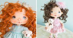 Hravá Alla ručne vyrába rozkošné šité bábiky doplnené maľbou ktoré vás prenesú do ich rozprávkového sveta! Handmade tvorba, ručne šité bábiky, hračky, bábky