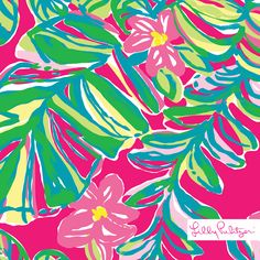 Lilly Pulitzer print : Jungle Tumble