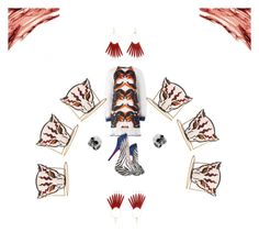 Rarrrrr Sweater Dress by hovlookbook on Polyvore featuring polyvore fashion style Gyunel Betsey Johnson STELLA McCARTNEY Kenneth Jay Lane West Coast Jewelry clothing