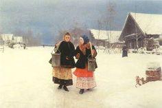 зима картины русских художников: 14 тыс изображений найдено в Яндекс.Картинках