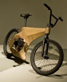 OKES lifestyle bike by Reinier Korstanje, via Behance