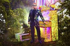Gucci to Outfit Elton John in Exclusive Styles for Farewell Tour