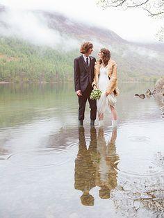 Rock n Roll Bride's top 10 wedding ideas: Helen & Andy's Atmospheric Lake District Wedding
