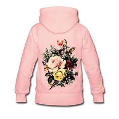 Vintage Rose Bouquet Flower Floral Womens by WinkinBitsyClothing