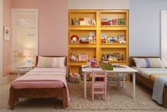 Idéias para quartos de irmãos menino e menina que dormem juntos - blog Meu Lar Doce Lar