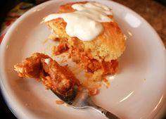 Buffalo Chicken Casserole Pie - Pegasuslegend