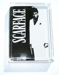 Acrylic Al Pacino Scarface Executive Desk Paperweight