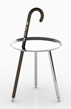 Customize your Urban Hike side table with badges of the places you've been. #moooi #tables #hauteliving #chicago