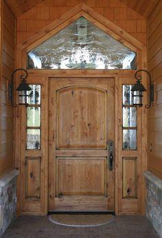 Rustic Style Front Doors