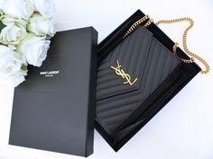 YSL Bag Unboxing - just luxux Sac Yves Saint Laurent, Saint Laurent Tasche, Ysl Bag, Chanel Boy Bag, Clutch Bag, Ysl Crossbody Bag, Ysl Purse, Ysl Handbags, Purses And Handbags
