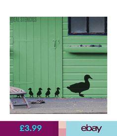 Stencils & Templates Duck Chicks Stencil Garden Wall Home Decor Art Craft Reusable Painting Stencils #ebay #Home & Garden