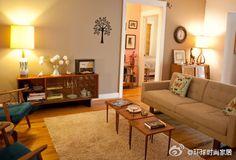 simple living room deco