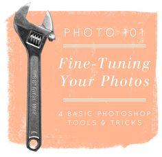 Photoshop basics for fine-tuning images
