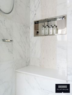 Trendy Walk in Shower Design Guide I would really like doing this. walk in shower tile ideas author: Transitional Living Rooms, Transitional Bathroom, Transitional House, Transitional Lighting, Bad Inspiration, Bathroom Inspiration, Small Bathroom, Master Bathroom, Walk In Shower Designs