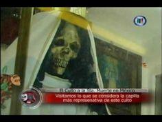 Extranormal Tepito Altar a la Santa Muerte 1ra parte 24 enero 2010