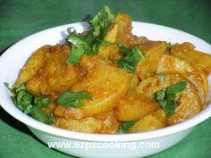 Ganth Gobhi (Kohl Rabi) recipe