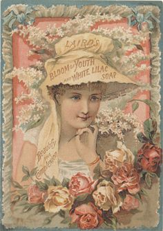 Liard's Trade Card ~ Bloom of Youth and White Lilac Soap