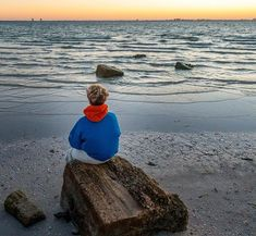 Sam watching the sun rise over Fort Myers.