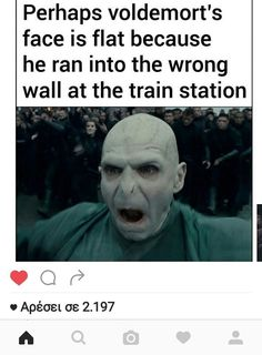 There are so many amazing, clever, and dumb Harry Potter memes out there, we thought we'd round up some of the best ones to make you LOL Harry Potter Puns, Harry Potter Hogwarts, Books For Teens, Book Memes, Voldemort, Book Fandoms, Just For Laughs, In This World, Funny Memes