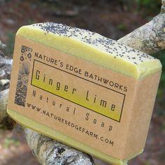 Ginger Lime Natural Soap +dreadstop @DreadStop