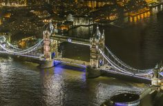 Tower Bridge from The Shard: Photo by Photographer Chris Wick - photo.net
