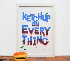 Ketchup ketchup y más ketchup