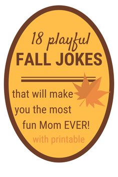 Print these fall jokes for kids. Use them in lunch boxes or keep them in your purse for when you want to bring on an after-school giggle. Funny Signs, Funny Jokes, Hilarious, Parenting Tips, Kids And Parenting, Summer Jokes, Kids Falling, Jokes For Kids, Kid Jokes